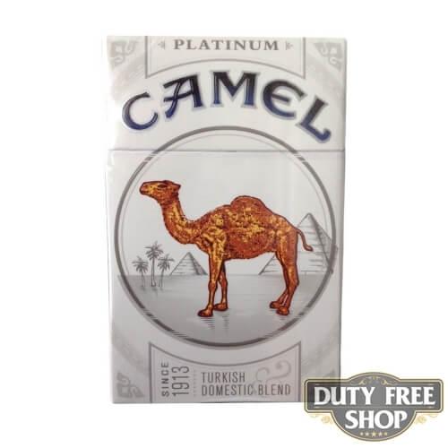 Пачка сигарет Camel Platinum (Silver) USA