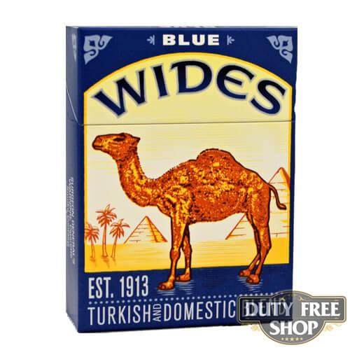 Пачка сигарет Camel Wides Blue USA