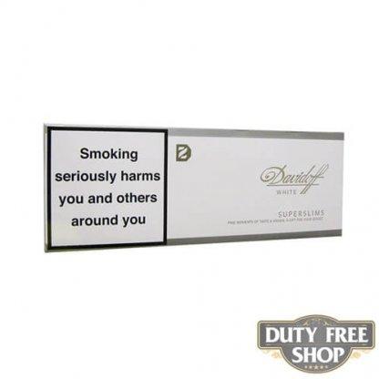 Блок сигарет Davidoff SuperSlims White Duty Free