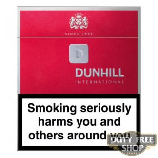 Пачка сигарет Dunhill International (1 пачка) Duty Free