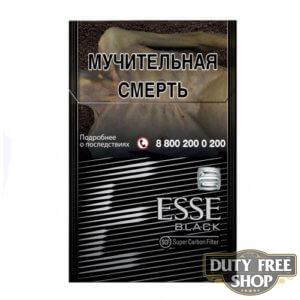 Пачка сигарет ESSE Black
