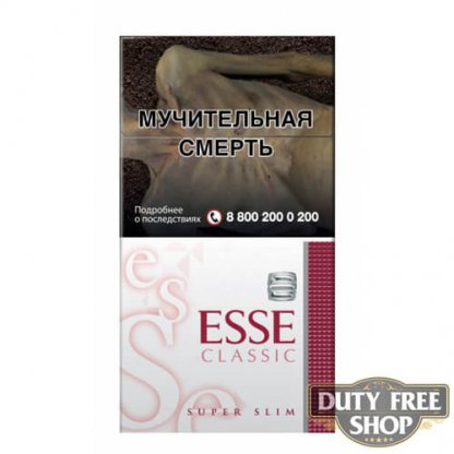 Пачка сигарет ESSE Classic