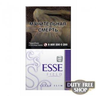 Пачка сигарет ESSE Field