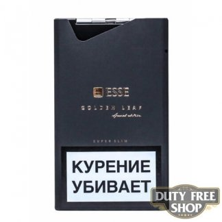 Пачка сигарет ESSE Golden Leaf Special Edition