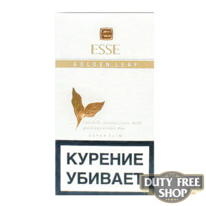 Пачка сигарет ESSE Golden Leaf White