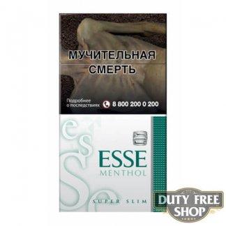Пачка сигарет ESSE Menthol