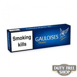 Блок сигарет Gauloises Blondes Blue Duty Free