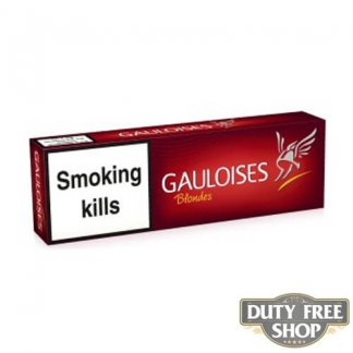 Блок сигарет Gauloises Blondes Red Duty Free
