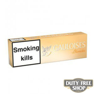 Блок сигарет Gauloises Blondes Ultra Light Duty Free
