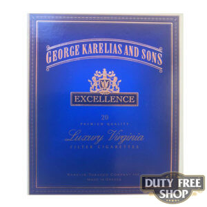 Пачка сигарет George Karelias and Sons Excellence Duty Free