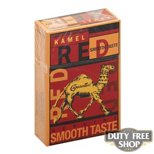 Пачка сигарет Kamel Red Smooth Taste USA