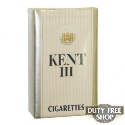 Пачка сигарет KENT III Soft USA