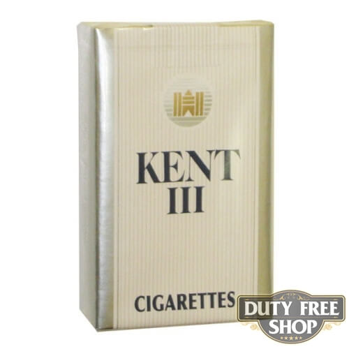 Пачка сигарет KENT III Soft USA