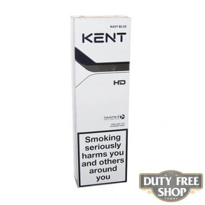 Блок сигарет KENT HD Navy Blue 8 (Blue Futura) Duty Free