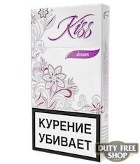 Пачка сигарет Kiss Dream