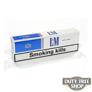 Блок сигарет L&M Blue Duty Free