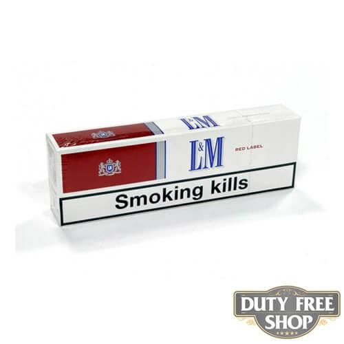 Блок сигарет L&M Red Duty Free