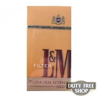 Пачка сигарет L&M Turkish Night 100's USA