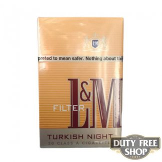 Пачка сигарет L&M Turkish Night USA