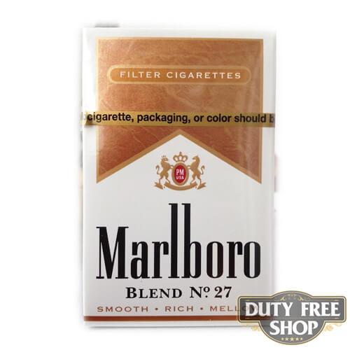 Пачка сигарет Marlboro Blend №27 USA