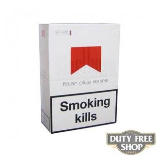 Блок сигарет Marlboro Filter Plus 3mg Duty Free