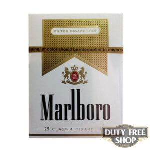 Пачка сигарет Marlboro Gold 25's USA