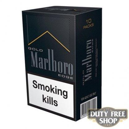 Блок сигарет Marlboro Gold Edge Duty Free