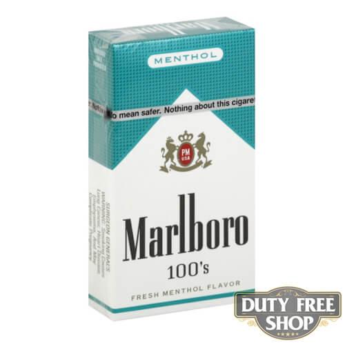 Пачка сигарет Marlboro Menthol 100's USA