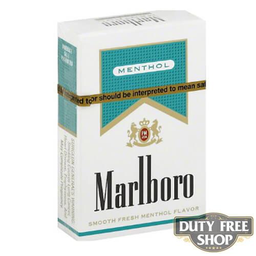 Пачка сигарет Marlboro Menthol Gold USA