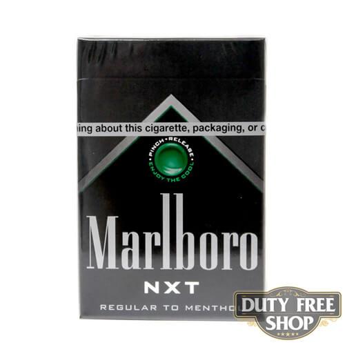 Пачка сигарет Marlboro NXT USA