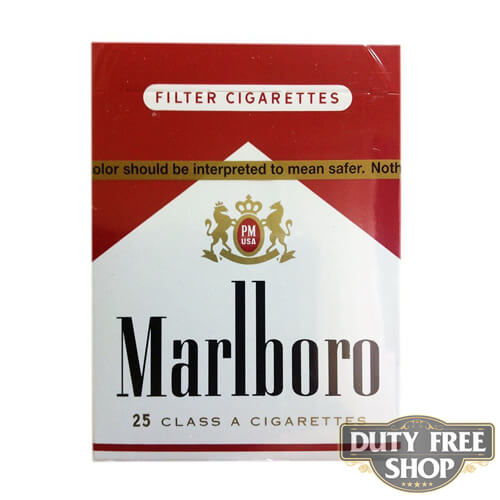 Пачка сигарет Marlboro Red 25's USA