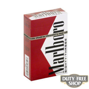 Пачка сигарет Marlboro Red Eighty-Threes (83) USA