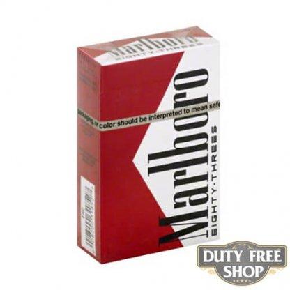 Пачка сигарет Marlboro Red Eighty-Threes (83) USA