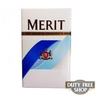 Пачка сигарет Merit Blue USA