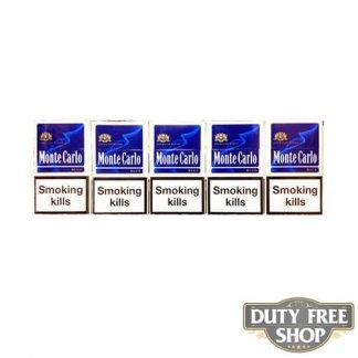 Блок сигарет Monte Carlo Blue Duty Free