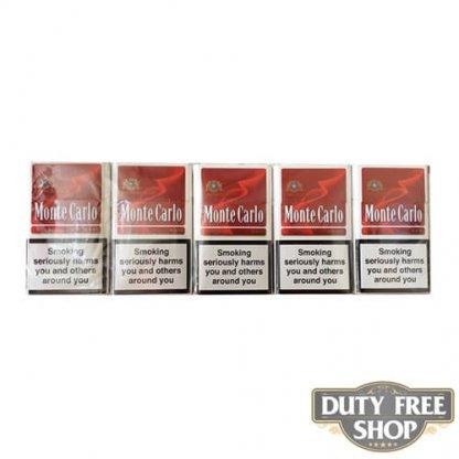 Блок сигарет Monte Carlo Red Duty Free