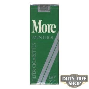 Пачка сигарет More Menthol 120's Soft USA