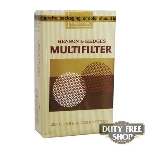 Пачка сигарет Multifilter (Benson & Hedges) Soft USA