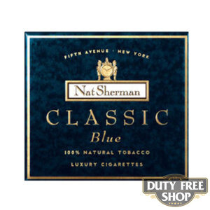 Пачка сигарет Nat Sherman Classic Blue USA