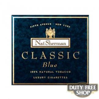 Пачка сигарет Nat Sherman Classic Blue USA