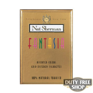 Пачка сигарет Nat Sherman Fantasia USA