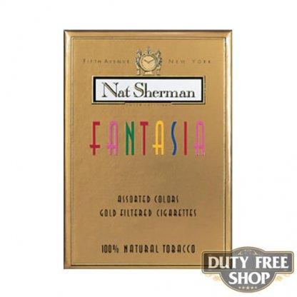 Пачка сигарет Nat Sherman Fantasia USA