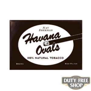 Пачка сигарет Nat Sherman Havana Ovals USA