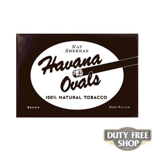 Пачка сигарет Nat Sherman Havana Ovals USA