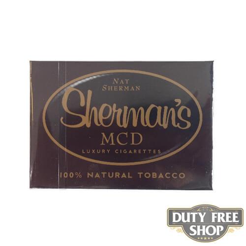Пачка сигарет Nat Sherman MCD USA