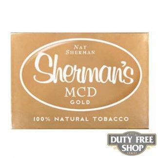 Пачка сигарет Nat Sherman MCD Gold USA
