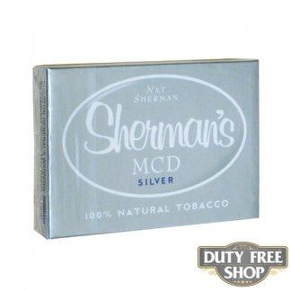 Пачка сигарет Nat Sherman MCD Silver USA