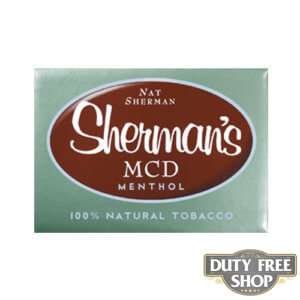 Пачка сигарет Nat Sherman MCD Menthol USA