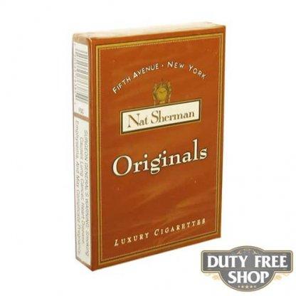 Пачка сигарет Nat Sherman Originals USA
