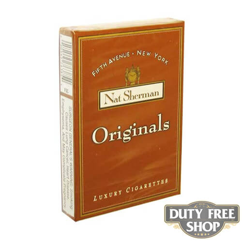 Пачка сигарет Nat Sherman Originals USA